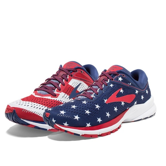 brooks launch 5 red white blue off 63